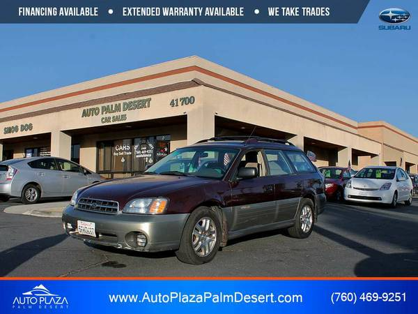 2001 Subaru Outback from Auto Plaza Palm Desert