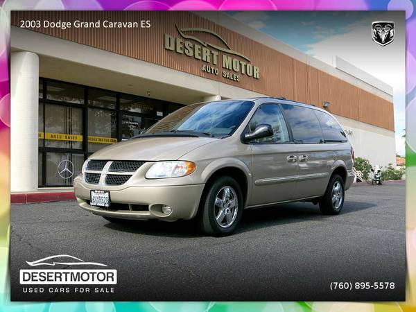 ✨Fun to drive 2003 Dodge Grand Caravan ES Van/Minivan FOR...