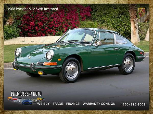1968 Porsche 912 Fully Restored Coupe in EXCELLENT Condition