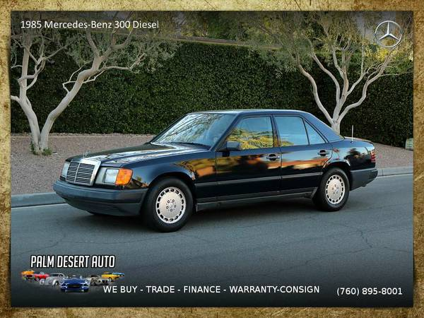 1985 Mercedes-Benz 300 Diesel Sedan is priced to SELL NOW!