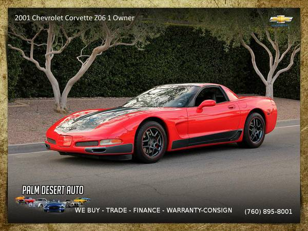2001 Chevrolet Corvette Z06 1 Owner ! Coupe 6 Speed Coupe for sale....