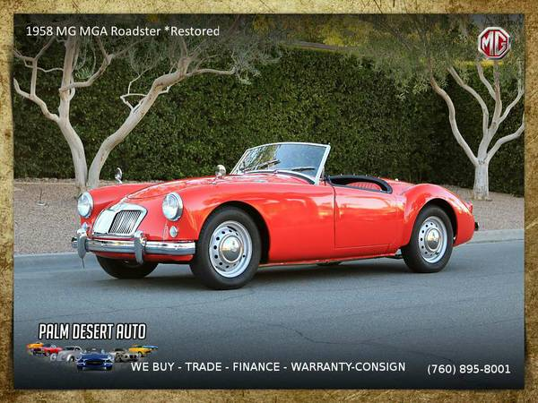1958 MG MGA Roadster *Restored* Convertible that performs beyond...