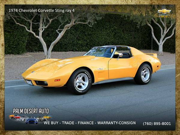 1974 Chevrolet Corvette Sting ray 4 Speed Coupe with 0 miles