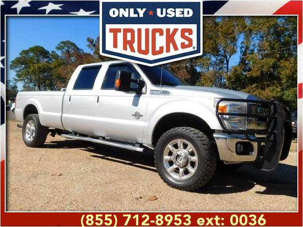 2011 *Ford F350* *F-350*F 350* Lariat 4x4 Super Duty SRW (8cyl, 6.7L,