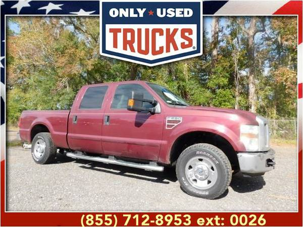 2008 *Ford F250* *F-250*F 250* XLT Super Duty (8cyl, 6.4L, 350.0hp)...