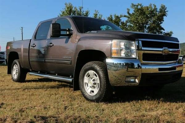 2010 Chevrolet Silverado 2500 HD Crew Cab LTZ Pickup 4D 6 1/2 ft