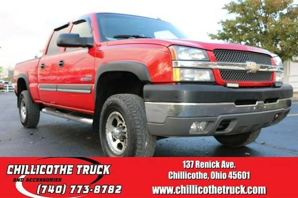 2004 Chevrolet Silverado 2500 HD Crew Cab LT Pickup 4D 8 ft...