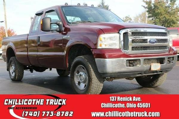 2006 Ford F250 Super Duty Super Cab XLT Pickup 4D 6 3/4 ft...