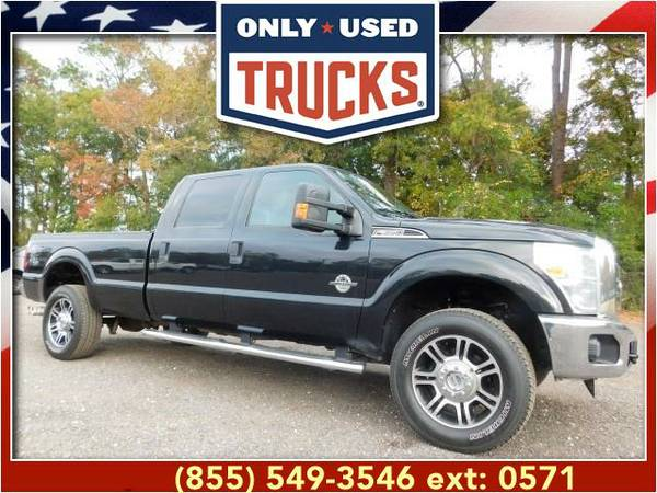 2013 *Ford F350* *F-350*F 350* XLT 4x4 Super Duty SRW (8cyl, 6.7L,...