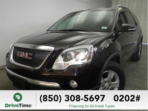 2008 GMC Acadia SLT-1 (Dark Crimson Metallic) - Beautiful & Clean...