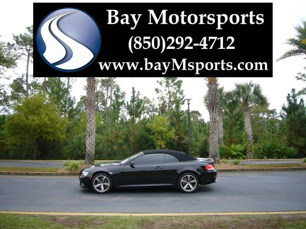 2008 BMW 650i Convertible Sport/Premium/Navigation/Logic7/IPod