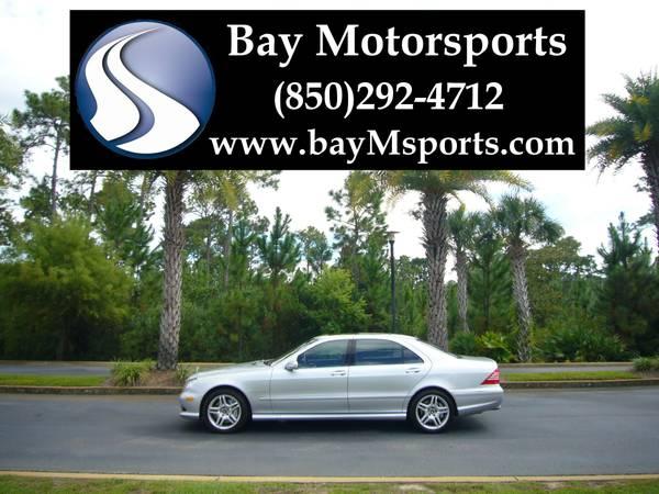 2003 Mercedes Benz S55 AMG Sport - Navi/Supercharged/493HP