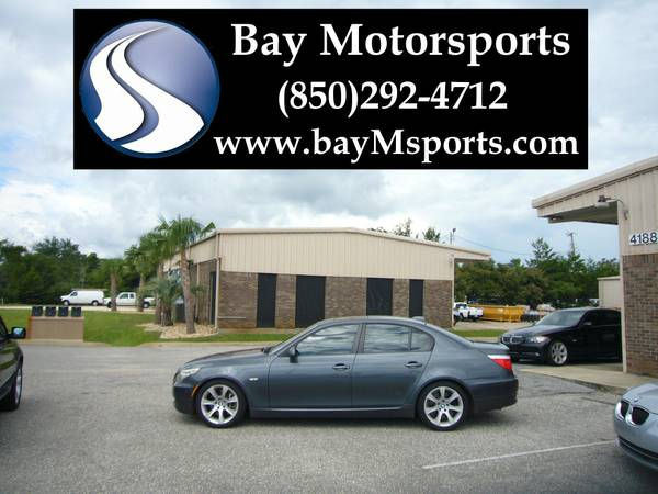 2008 BMW 535i Sport Sedan-Sport/Premium/Comfort Seats/HK Audio