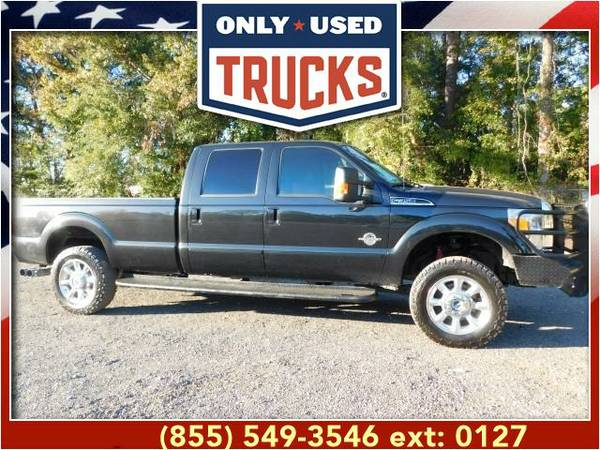 2015 *Ford F350* *F-350*F 350* Lariat 4X4 Super Duty SRW (8cyl, 6.7L,
