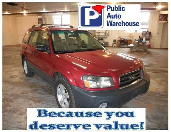 2003 SUBARU FORESTER - ONE OWNER!!