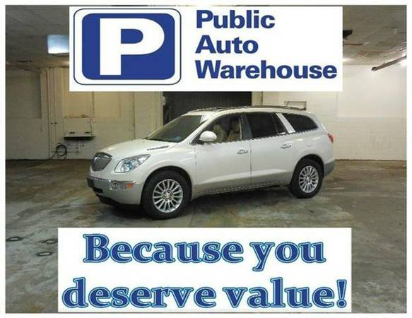 2008 BUICK ENCLAVE CXL - ROOMY WITH 3RD ROW SEATING!!