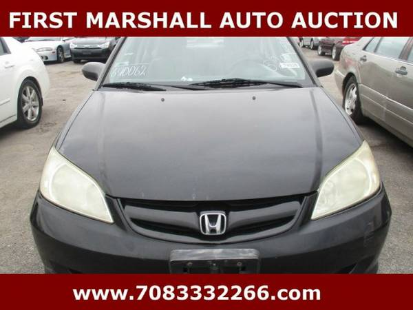 2004 Honda Civic LX - First Marshall Auto Auction