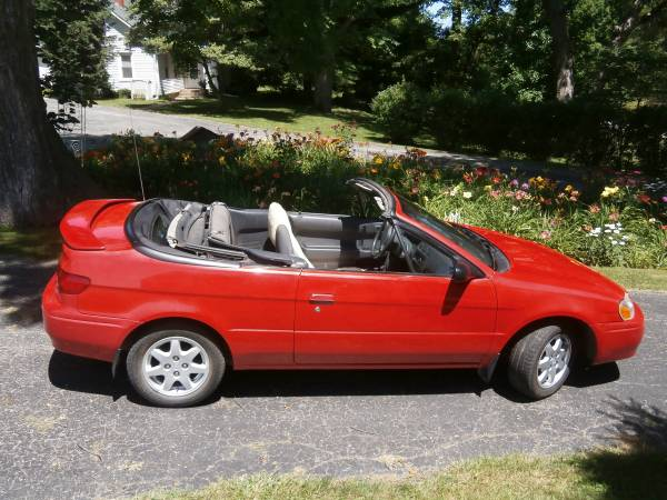 Toyota 1997 Paseo 5 speed Convertible