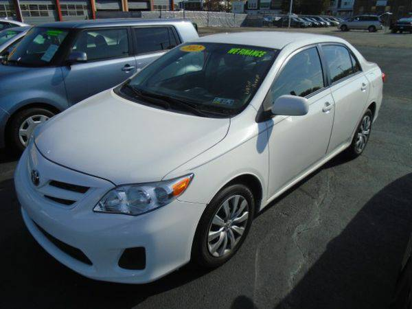 2012 *Toyota* *Corolla* L 4-Speed AT 🚗 $500 DOWN EVERYONE APPR