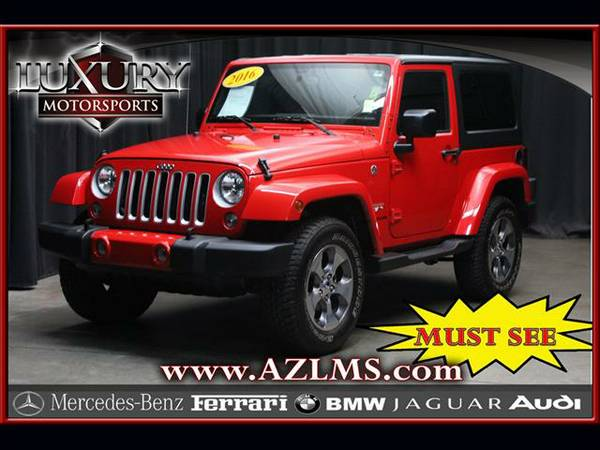 2016 Jeep Wrangler Sahara 4WD .... Super Nice .... Must See .... Look