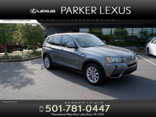 *2014* *Bmw X3* *xDrive28i* Gray