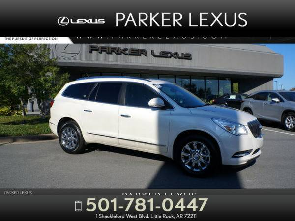 *2013* *Buick Enclave* *Leather* White
