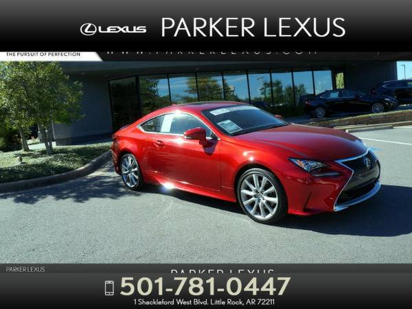 *2015* *Lexus Rc 350* *2DR CPE RWD* Red