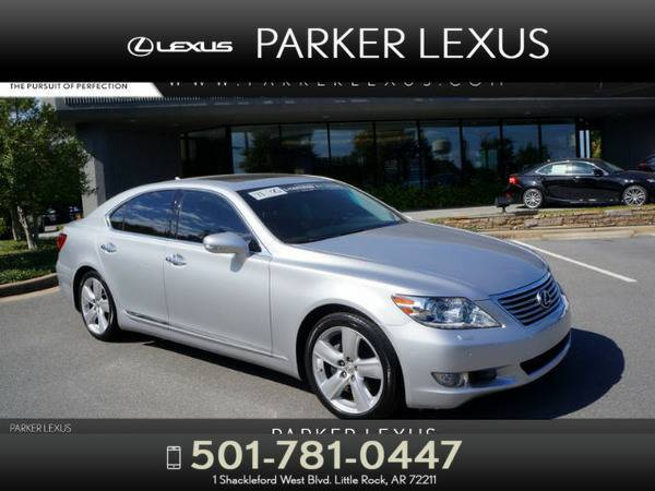 *2011* *Lexus Ls 460* *4DR SDN RWD* Silver