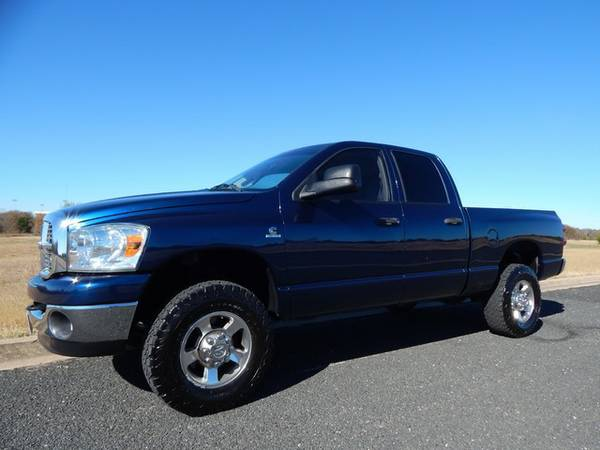 PATRIOT BLUE 6.7L 2008 DODGE 2500 4X4-SIMPLE YET ELEGANT-NICE RIG!