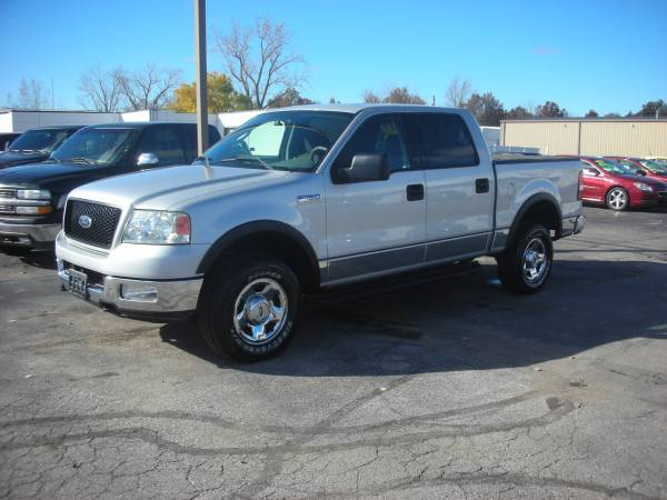 2004 FORD F150 SUPERCREW 4WD XLT