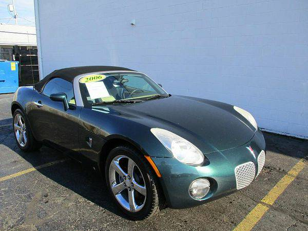 2006 *Pontiac* *Solstice* Base 2dr Convertible *$499 Down Drives Today