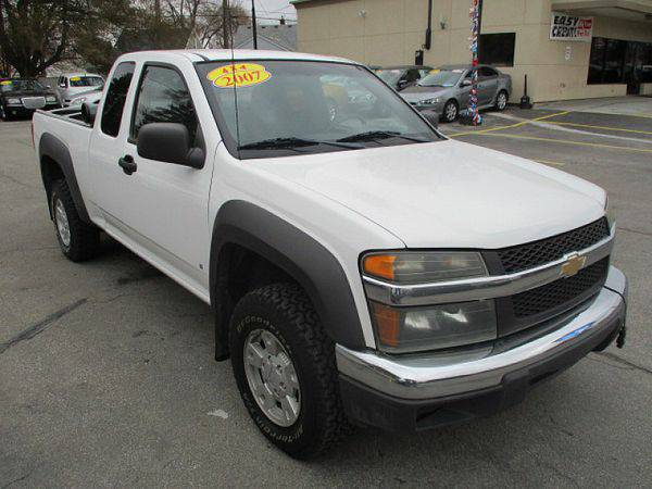 2007 *Chevrolet* *Colorado* *4WD* Ext Cab LT Z71 *$499 Down Drives Tod
