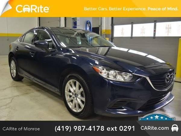 2016 *Mazda MAZDA6* 4dr Sdn Auto i Sport (BLUE)