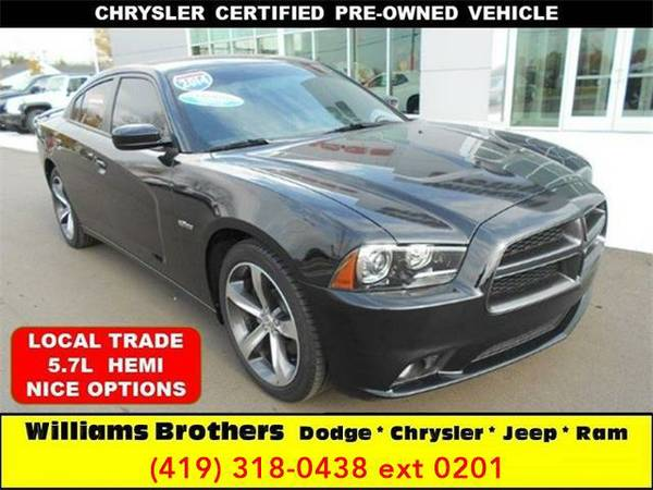 2014 *Dodge Charger* R/T 100th Anniversary 4dr Sedan (Black)