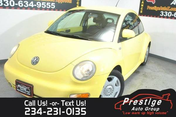 1999 Volkswagen New Beetle GLS Coupe New Beetle Volkswagen