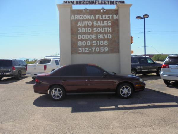 2003 CHEVY MALIBU...CASH OR CREDIT UNION SPECIAL PRICE
