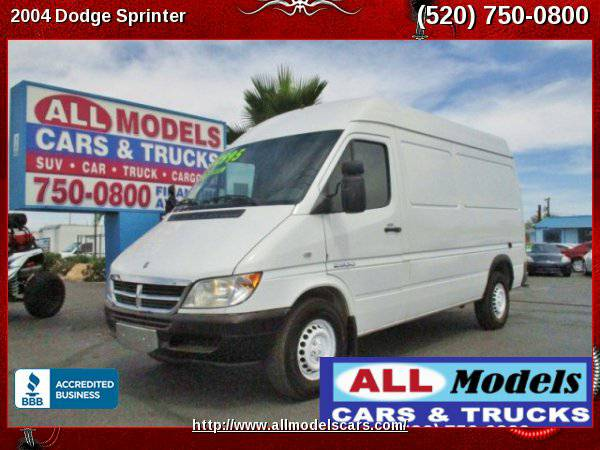 2004 Dodge Sprinter 2500 Cab & Chassis 140 W.B. Cutaway 5-Cyl, Turbo...