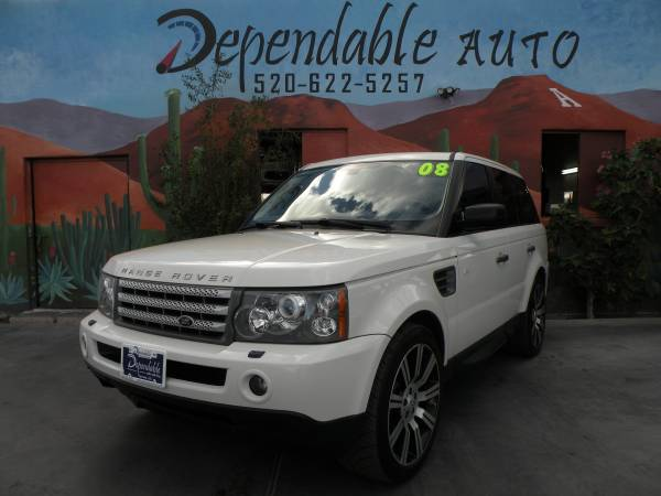 2008 RANGE ROVER - ONLY $500 DOWN O.A.C - LOWEST PRICES IN TOWN !!