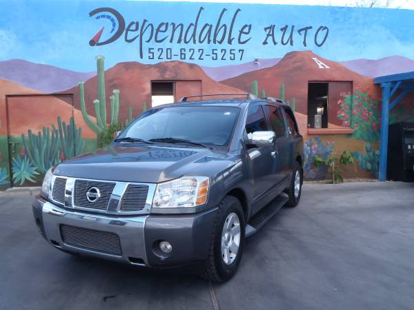 2005 NISSAN ARMADA - $500 DOWN O.A.C - STOP BY TODAY FOR AN APPROVAL !