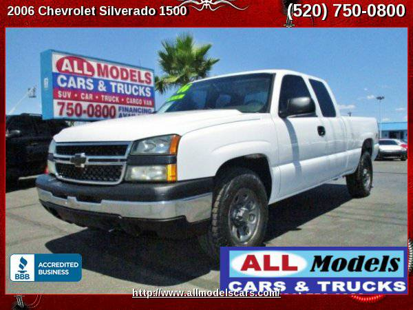 2006 Chevrolet Silverado 1500 Extended Cab 4WD Pickup