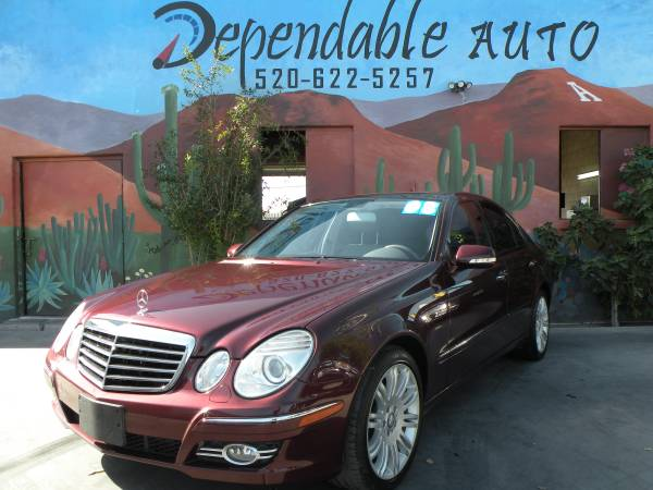 2008 MERCEDES E350 - LOW PRICES- LOW PAYMENTS - $500 DWN O.A.C -