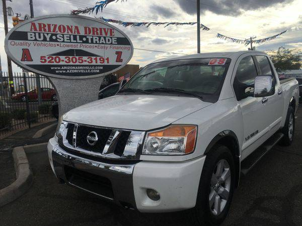 2008 *Nissan* *Titan* LE 4x2 Crew Cab Short Bed 4dr (2008.5) VEHICLES