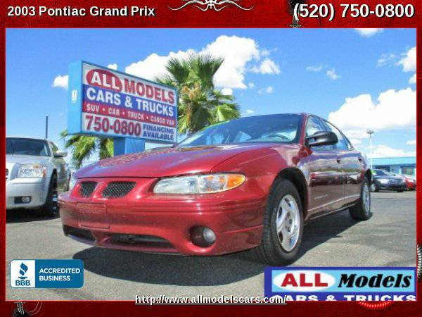 2003 Pontiac Grand Prix SE Sedan 4D *****LOW MILEAGE*****