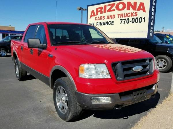 2005 Ford F-150 SuperCrew 139 FX4 4WD ****We Finance****