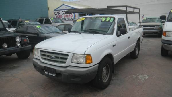 TRUCKS!!! 2001 Ford Ranger Reg Cab $499 Dwn*+ Closing Fees**