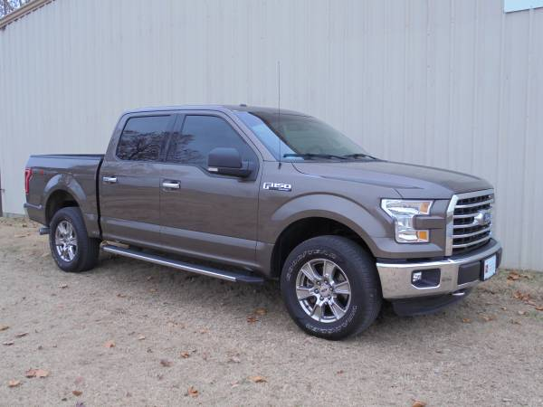 2015 Ford F150 SuperCrew 4x4 Lariat Loaded