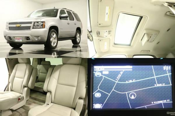 *TAHOE LTZ 4X4 w HEATED COOLED LEATHER* 2012 Chevy *DVD - GPS NAV*