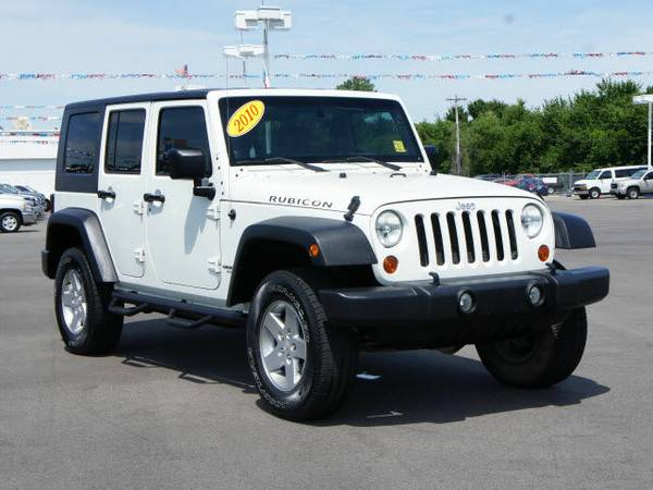 2010 JEEP WRANGLER UNLIMITED - RUBICON!! 4X4! NAVIGATION!