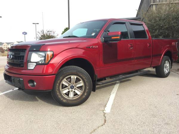 2013 FORD F-150-FX4-WITH ONLY 31K MILES SUPER CLEAN TRUCK!!