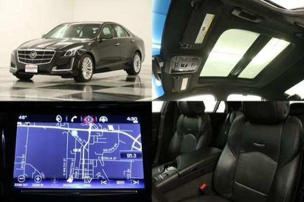 *AWD W GPS NAV* 2014 Cadillac *ATS w SUNROOF*